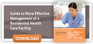 More effective management of a residential behavioral healthcare facility