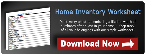 Download the Home Inventory Worksheet Today
