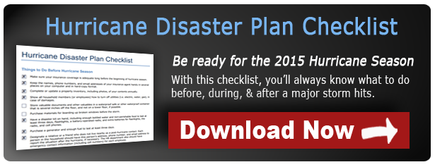 Download the Hurricane Disaster Plan Checklist