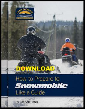 Maine Snowmobiling Guide