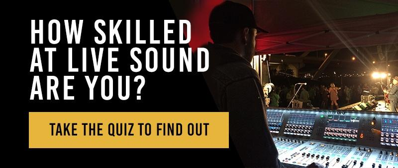 live sound skills quiz