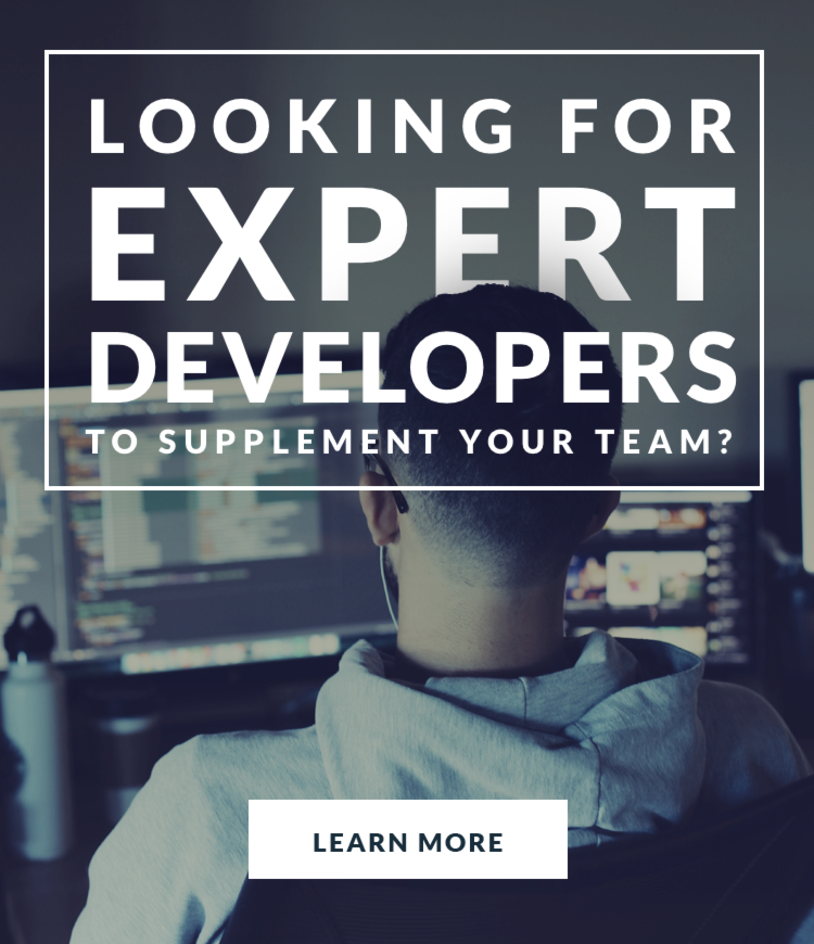 Looking for Supplemental Expert Developers?