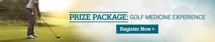 Golf Medicine Prize Package