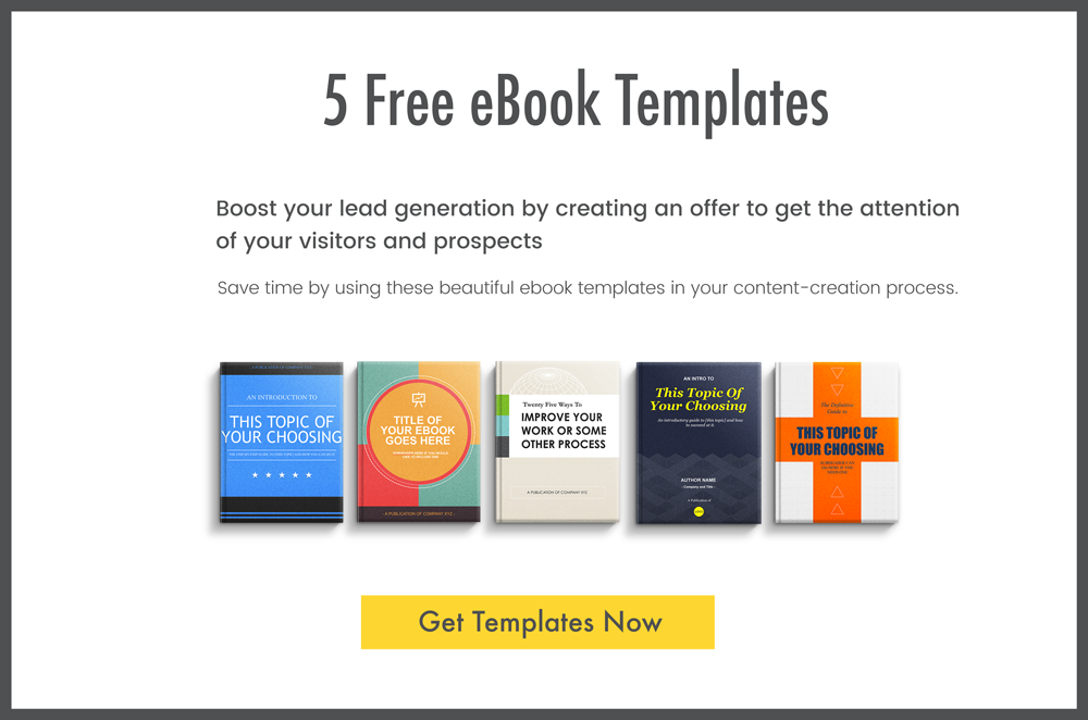 5 Free eBook Templates
