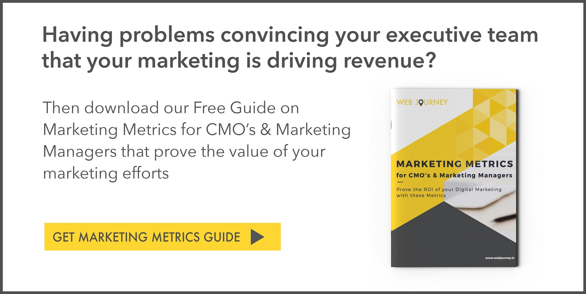 Marketing Metrics for CMO's and Marketing Managers