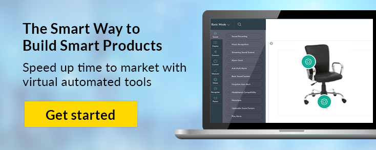 Build smart products and speed up time to market - the IoT Platform with virtual automated tools
