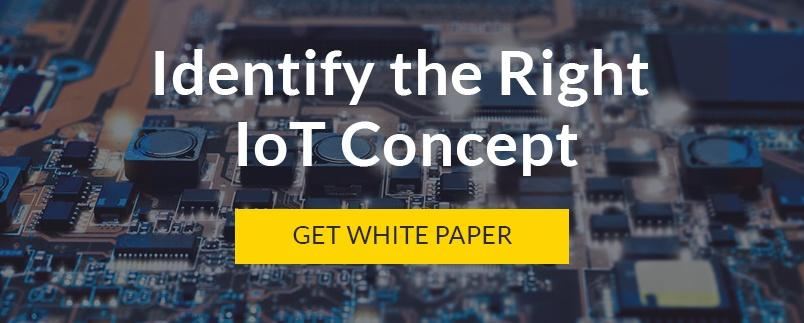 Identify the right IoT concept