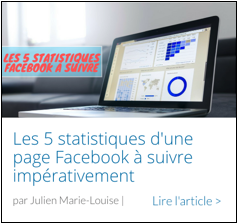 Article 5 Stats d'une page Facebook