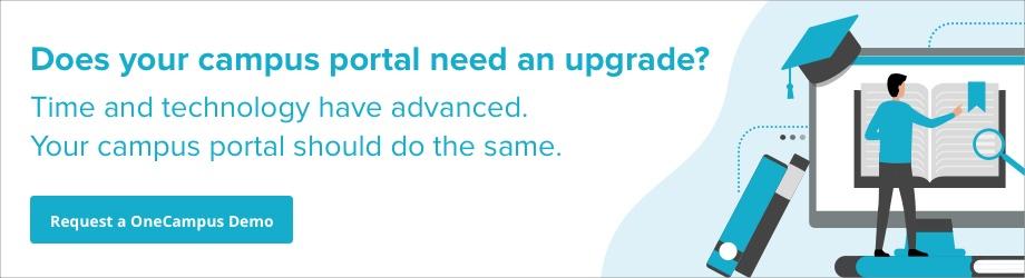 upgrade your campus portal