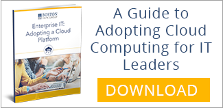Enterprise IT - A guide to adopting cloud computing for IT leaders