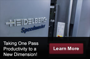 Taking One Pass Productivity to a New Dimension - Learn More