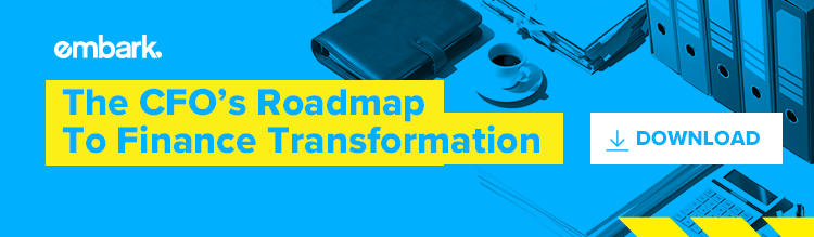 CFO's Roadmap To Finance Transformation