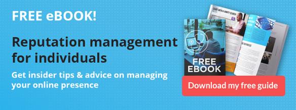 personal online reputation management ebook