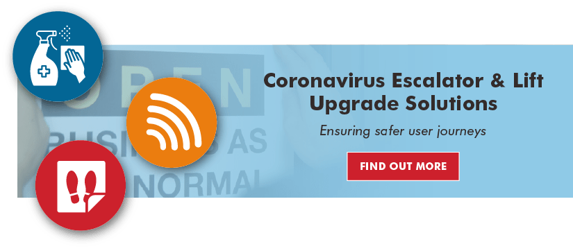 Coronavirus lift & escalator upgrade solutions by Stannah