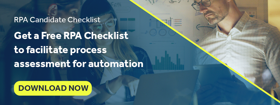 RPA Process Assessment and Candidate Checklist
