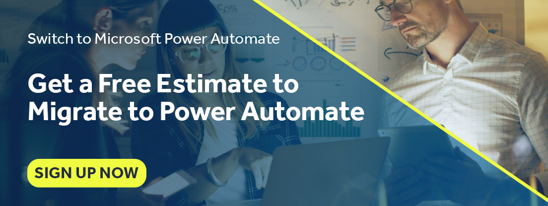 Migrate to Microsoft Power Automate with Blueprint