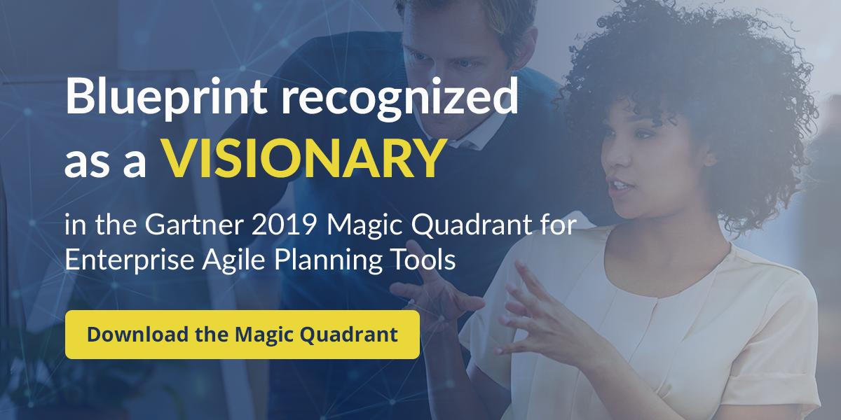 Gartner Magic Quadrant for Enterprise Agile Planning