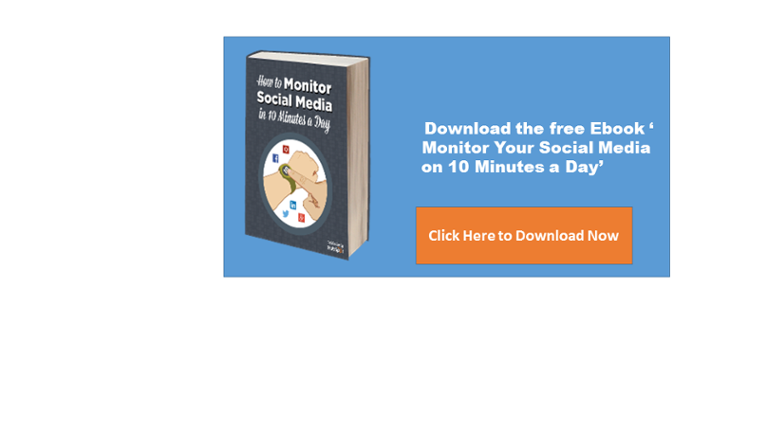 Monitor Your Social Media on 10 Minutes A Day