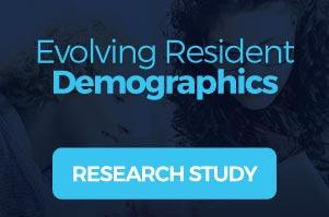 Evolving Resident Demographics Download the research study