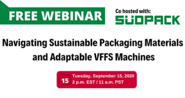 free webinar sustainable packaging materials
