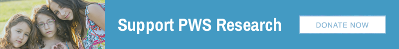 donate to FPWR for PWS research