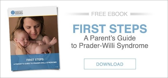 Prader Willi Syndrome Resources PWS First Steps Ebook CTA Blog