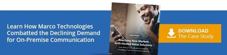 Learn How Marco Technologies Combatted the Declining Demand for On-Premise Communication. Download the Case Study.