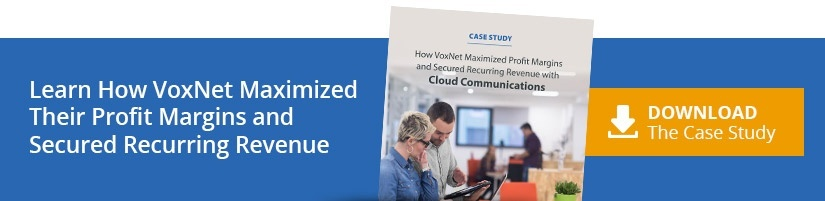 Learn How VoxNet Maximized Their Profit Margins and Secured Recurring Revenue