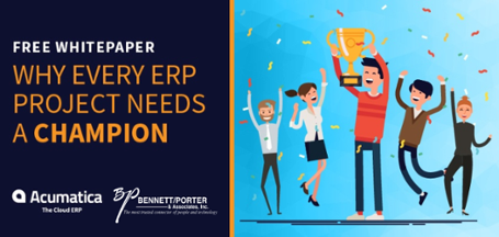 Every ERP Project Needs a Champion