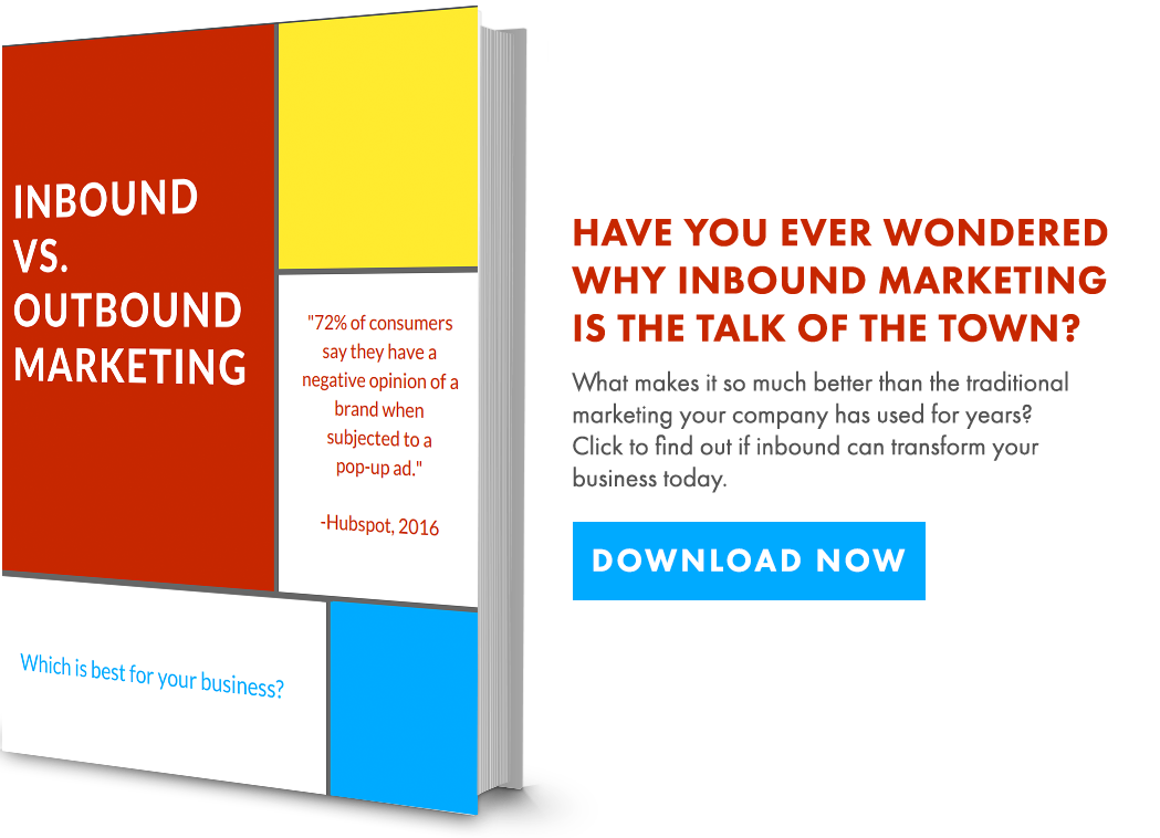 Download the Inbound vs. Outbound Ebook to see which is best for your business