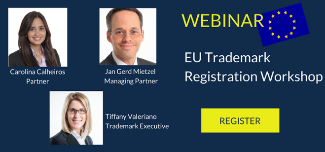 EU Trademark Registration Workshop - Register now!
