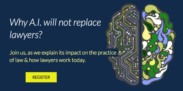 Why AI Will Not Replace Lawyers? - Webinar