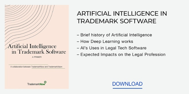 Free download: Artificial Intelligence in Trademark Software White Paper
