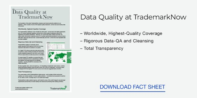 Download: Data Quality at TrademarkNow