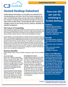 Hosted Desktop Datasheet