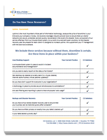 Free maximizing uptime checklist - give your company a quick self-evelauation