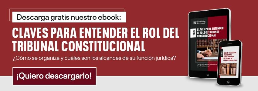 Ebook: Claves para entender el rol del Tribunal Constitucional