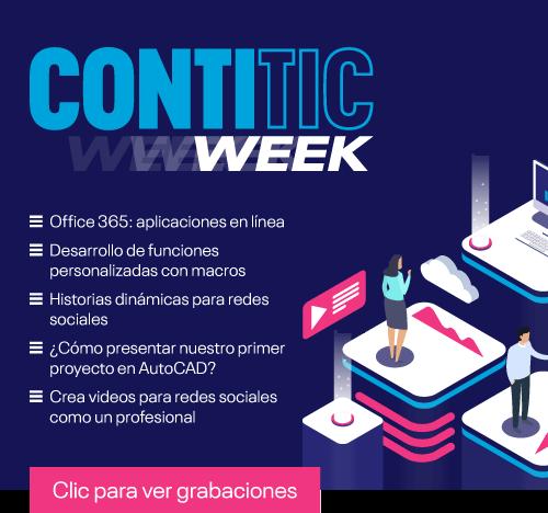 Accede a las grabaciones de Conti TIC Week