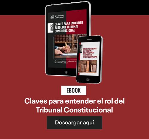 Ebook Claves para entender el rol del Tribunal Constitucional