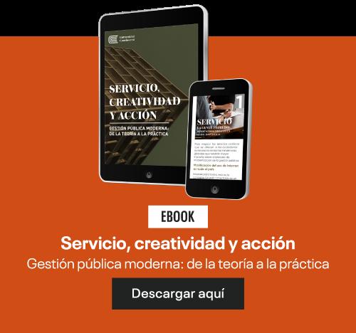 Servicio, creatividad y acción: Gestión pública moderna: de la teoría a la práctica