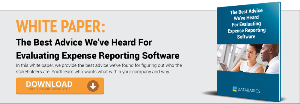 The Best Advice We've Heard For Evaluating Expense Reporting Software