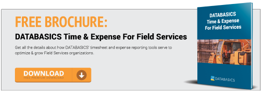 Time & Expense For Field Services Free Download