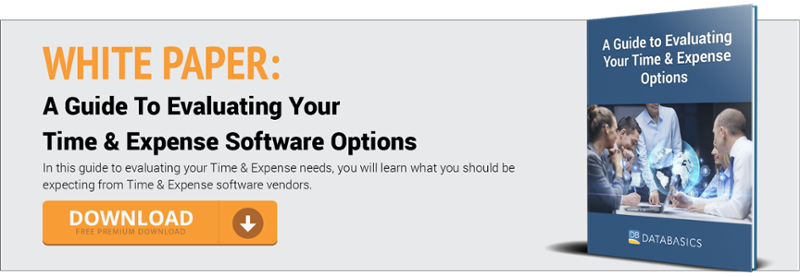 A Guide To Evaluating Your Time & Expense Software Options