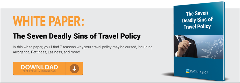 The Seven Deadly Sins of Travel Policy