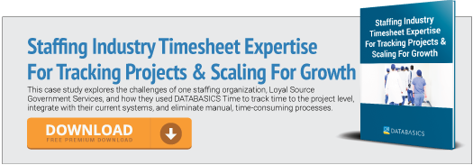 Staffing Industry Timesheet Expertise For Tracking Projects & Scaling For Growth
