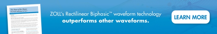 ZOLL's Rectilinear Biphasic waveform technology outperforms other waveforms. Learn More.