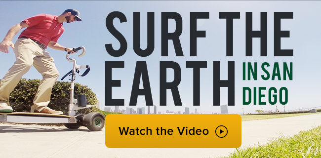 Surf the Earth in San Diego