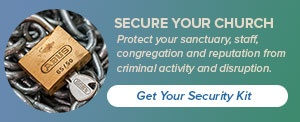 Secure your church and sanctuary from crime and disruption.