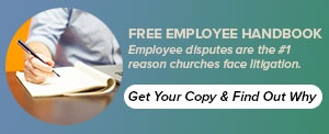 Free Employee Handbook for Ministries