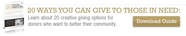 20 Ways You Can Give to Those in Need with Community West Foundation